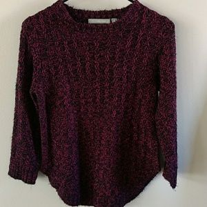 Ny collection black and pink sweater S